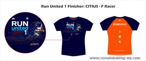 Run United 1 Finisher Shirt